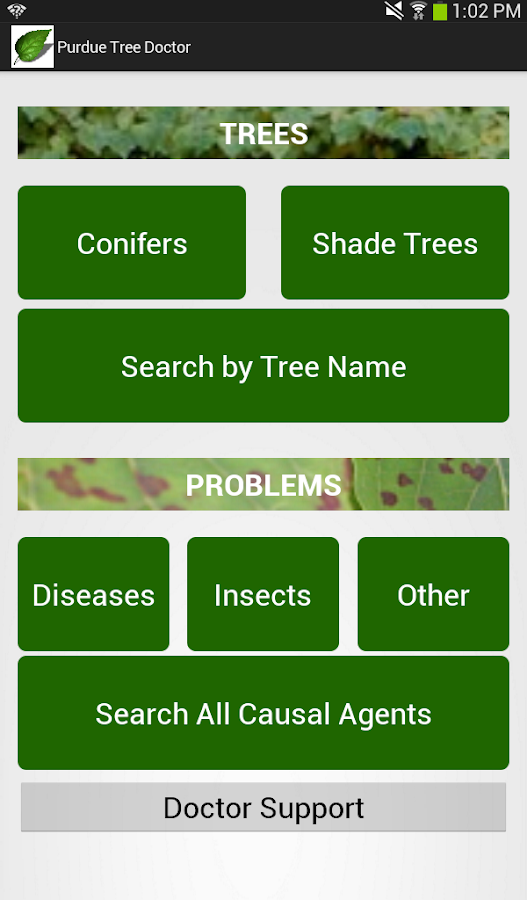 Purdue Tree Doctor - screenshot