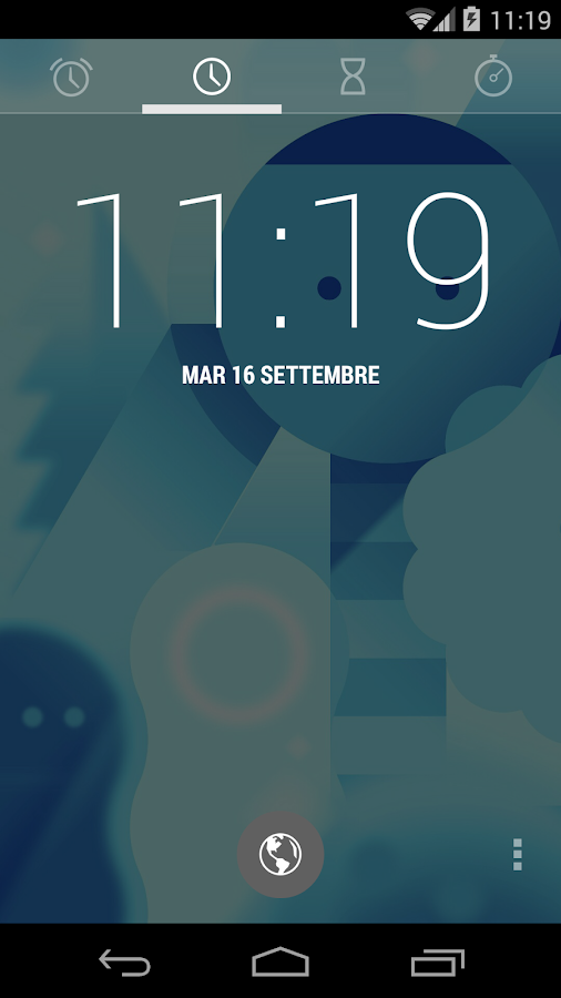 CM10/CM11 Transparent Theme - screenshot