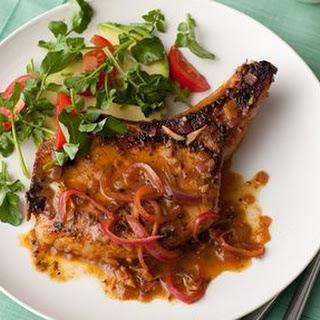 Cuban Pork Chops with Mojo Recipe
