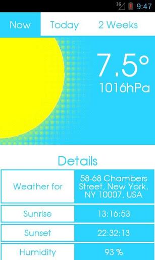 14 D Flat Design Weather PRO