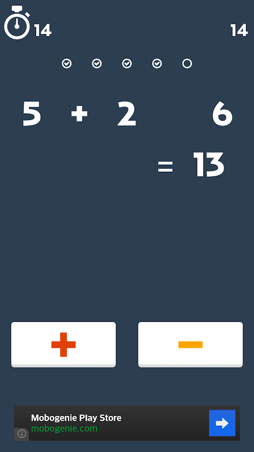 Cheer Math Game- screenshot