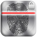 Metal Fingerprint Screen Lock icon
