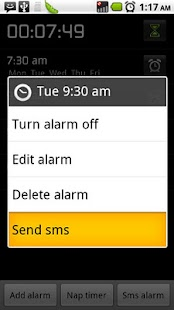 Flying alarm clock - screenshot thumbnail