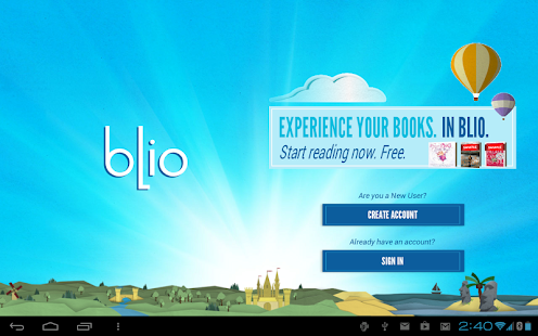 Blio eBooks- screenshot thumbnail