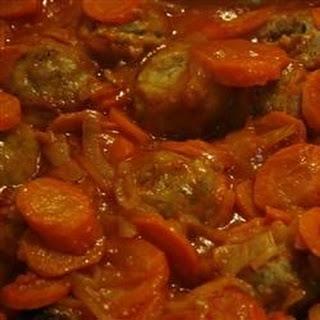 Applesauce Meatballs