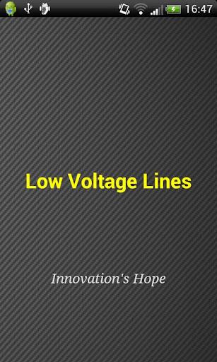Low Voltage Lines