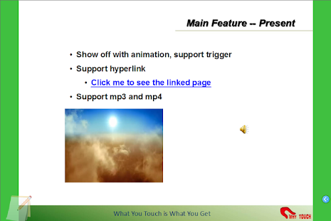Touchshow Powerpoint Player - screenshot thumbnail