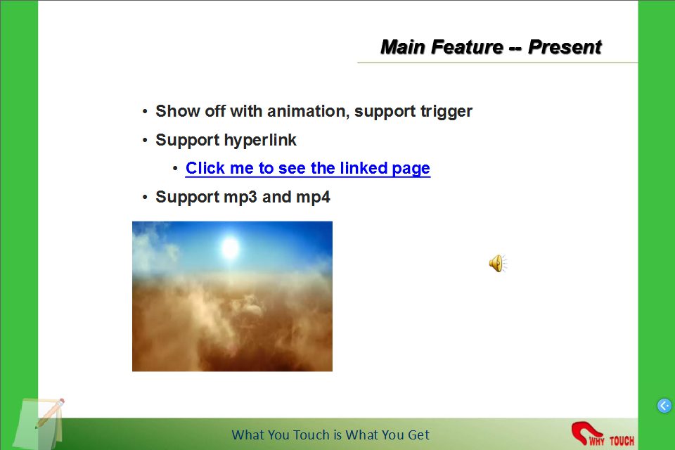 Touchshow Powerpoint Player- screenshot