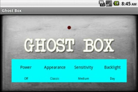 Ghost box spirit frank 39 s box android for Spirit box app android