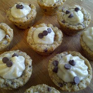 Banana Chocolatechip Tartlets (vegan Friendly).