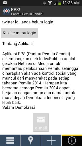 【免費社交App】Pantau Pemilu Sendiri-APP點子