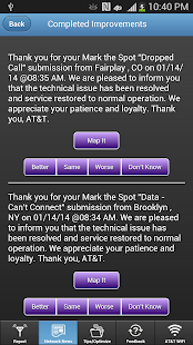 AT&T Mark the Spot- screenshot thumbnail