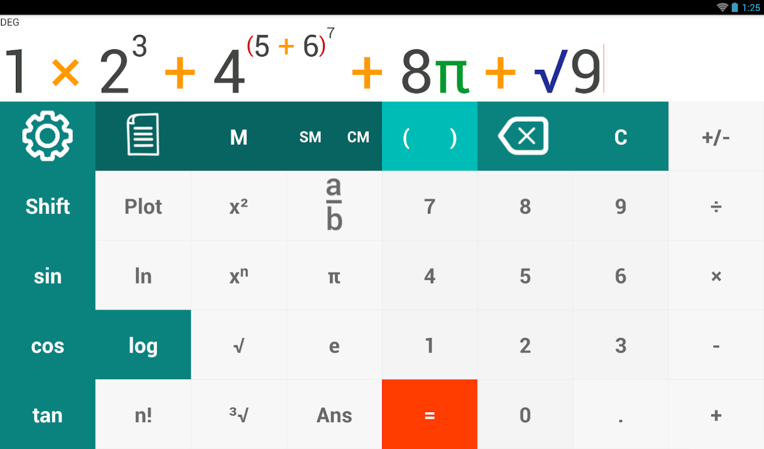 AkbarCalc Calculator- screenshot