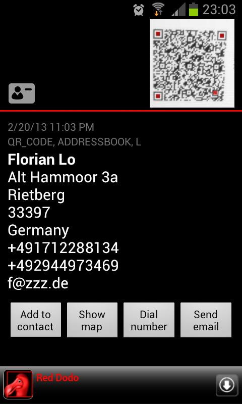 QR Barcode scanner +Flashlight - screenshot