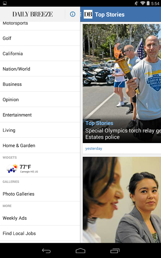 Torrance Daily Breeze- screenshot