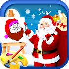 Coloring Book Of Santa Claus icon