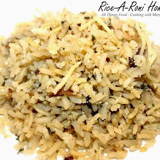Rice-A- Roni Homemade