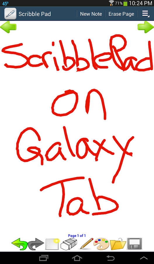 Scribble Pad- screenshot