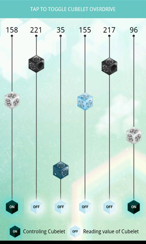 Cubelets Control - screenshot