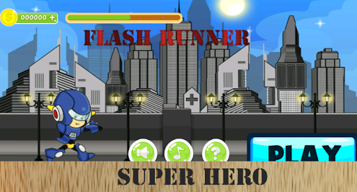 Super Hero Run : The Flash
