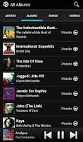 Screenshot of MixZing Music Player