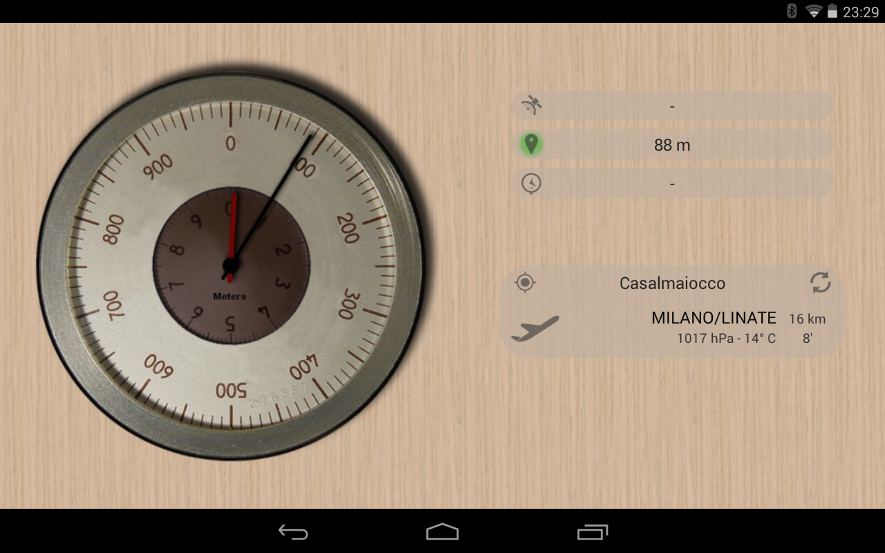 Accurate Altimeter- screenshot