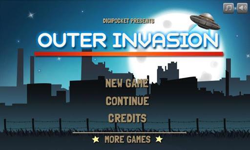 外部入侵:街機射擊遊戲