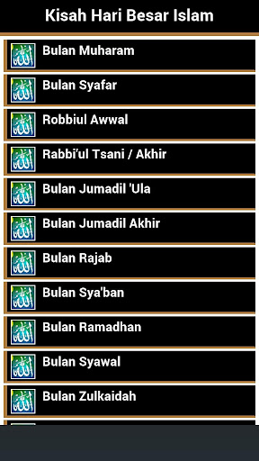 Kisah Hari Besar Islam