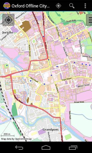 Oxford Offline City Map