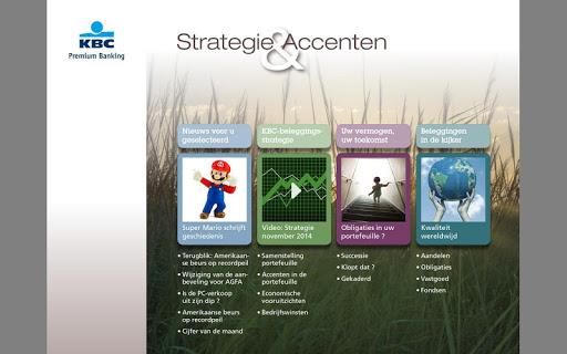KBC Strategie Accenten