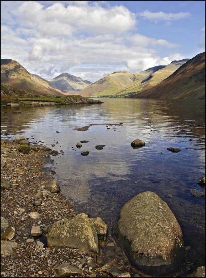 Wastwater by Tim Nicholson - Landscapes Waterscapes ( england, depth of field, lake, wastwater, lake district )