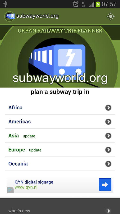 Subway and Metro Guide - screenshot