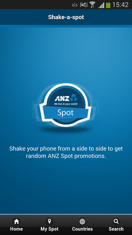 ANZ Spot - screenshot