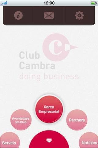 ClubCambra doing business- screenshot