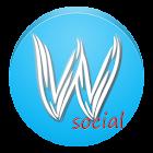 Word Cloud Social icon