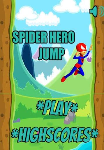 Spider Hero Quick Jump Game