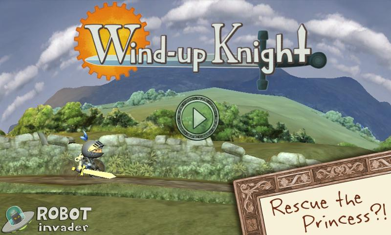 Wind-up Knight- screenshot