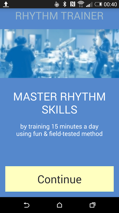 Rhythm Trainer- screenshot