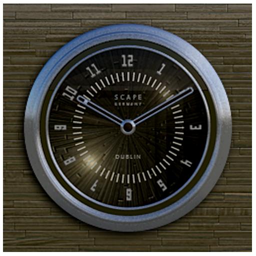 MOSCOW desktop analog clock