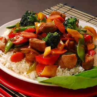 Easy Teriyaki Chicken Stir Fry.