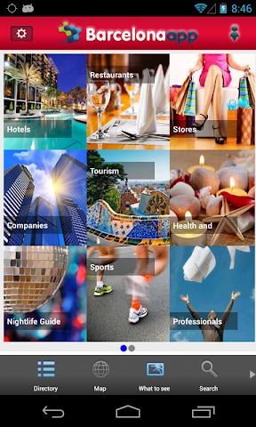 Screenshot 2 App Barcelona Guía Barcelona