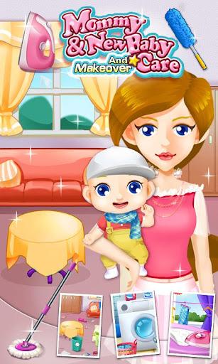 媽媽的小助手-新生兒房間打掃遊戲