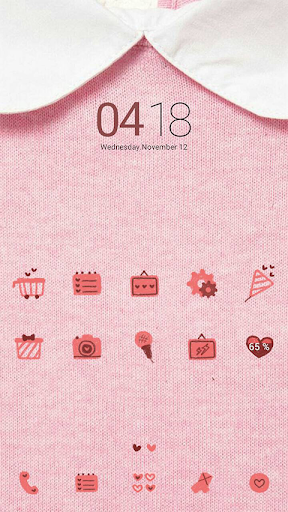 Pink Sweater dodol theme