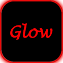 Neon Red Glow icon