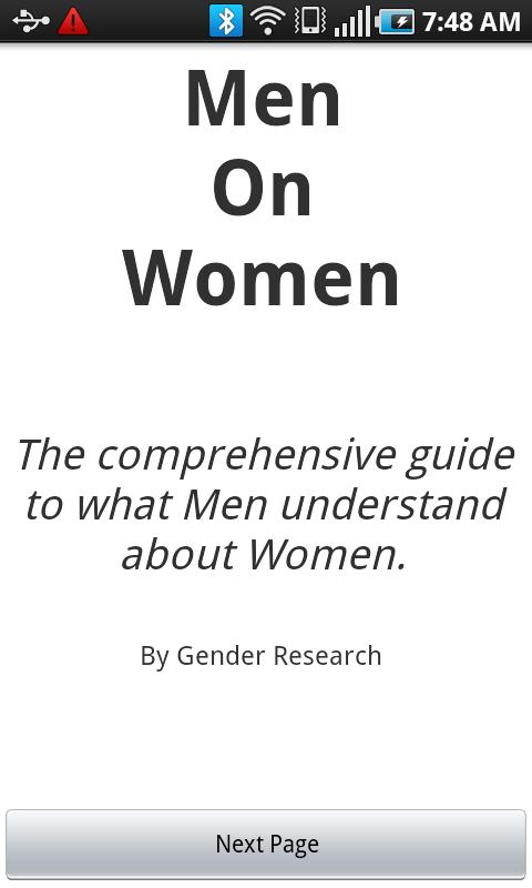 Men On Women - screenshot