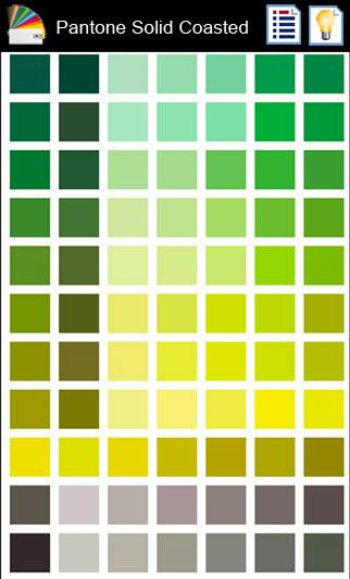 1 Pantone Color Book - Android Apps On Google Play