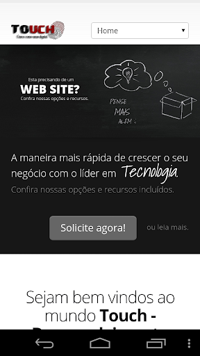 Touch - Web Mobile