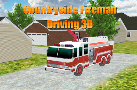 農村消防員駕駛3D