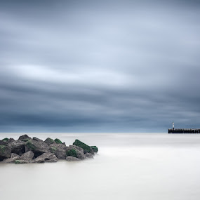 Nieuwpoort  by Steve De Waele - Landscapes Waterscapes