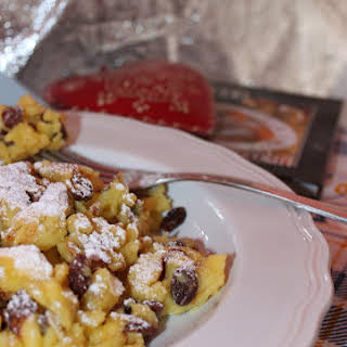 Kaiserschmarren, Emperor's Omelette or Fluffy Scratched Pancake.